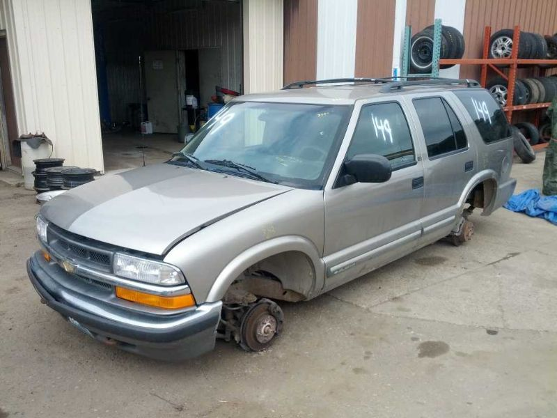 2000 Chevrolet S10 Blazer Ls Aa0149 Part Out Rohner S